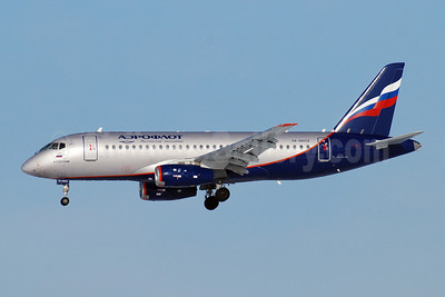 Aeroflot Russian Airlines Sukhoi Superjet 100-95B RA-89002 (msn 95010) SVO (OSDU). Image: 908134.