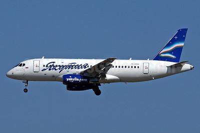 Yakutia Airlines (Yakutia Aircompany) Sukhoi Superjet 100-95B RA-89012 (msn 95020) ICN (Rob Finlayson). Image: 925011.