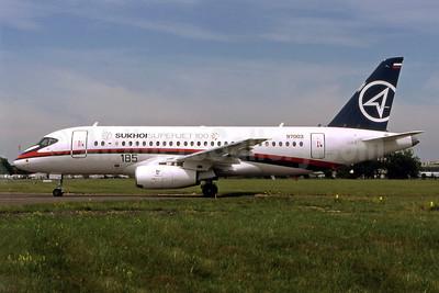 Sukhoi Superjet 100-95 RA-97003 (msn 97003) LBG (Pepscl). Image: 903609.