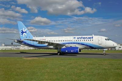 Interjet Sukhoi Superjet 100-95B I-PDVW (XA-NSG) (msn 95034) MEX (Michel Klein). Image: 923571.