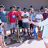 STEAM students construct catapults and learned about the design process from their teacher, Ms. Venezia.