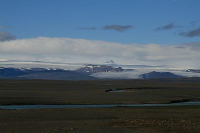 Hofsjökull: Hjartafell lengst til hægri