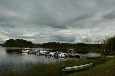 Näkymä Enon satamasta Vihtaniemeen - The view to Vihtaniemi from harbour of Eno Eno 2012