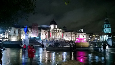 Trafalgar Square (HDR by phone)