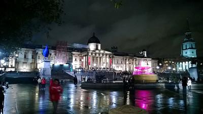 Trafalgar Square (HDR by phone)