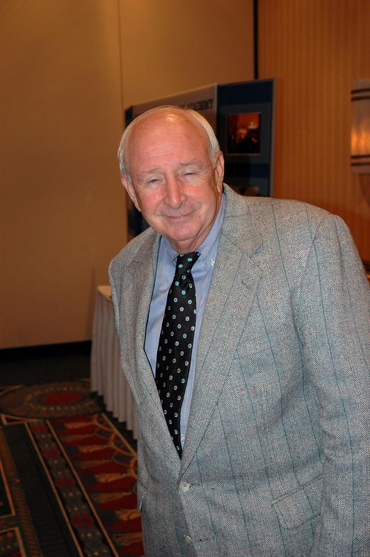 FUMA alumnus Eddie Booth '55 attends the Charlotte Open House