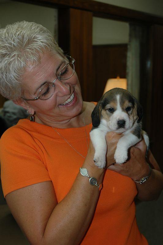 Sharon Higginbotham and friend
