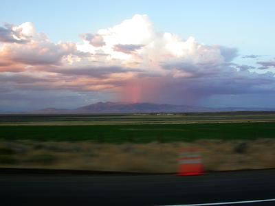 Summer 2007, east of Susanville, California.
