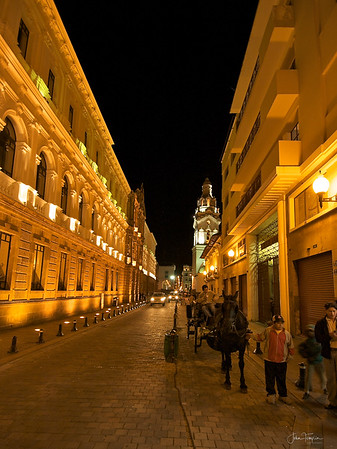 Quito and Guayaquil, Equador