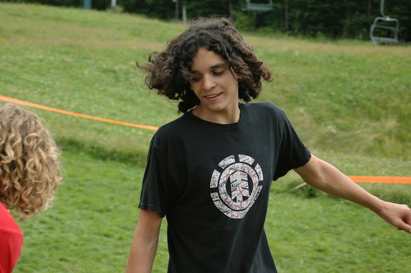 Matt, running in the games!