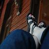 Feet<br /> Train Station<br /> Harper's Ferry, WV<br /> Sunday, 14 June, 2009