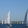 Leaving Marion with the J80 fleet - J80 North Americans race was this weekend