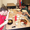 CPT Keithley joined us as we surprised the boys with a lunch at The Korean House restaurant in Charlottesville.