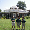 Visiting Monticello, home of Thomas Jefferson.