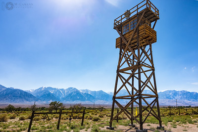 Manzanar State Historic Site, California Rt. 395, June 14, 2016.