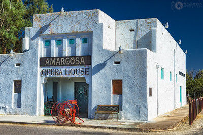 The Amargosa Opera House at Death Valley Junction, California.