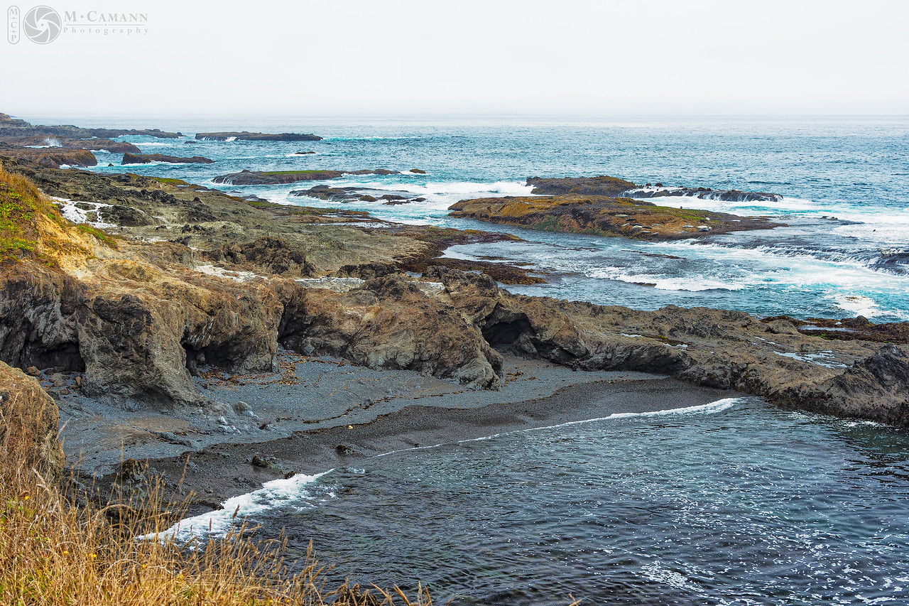 Menocino County coast, California, 13 August 2016.