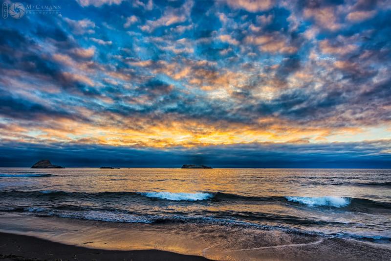 Trinidad beach, California, 29 August 2016.