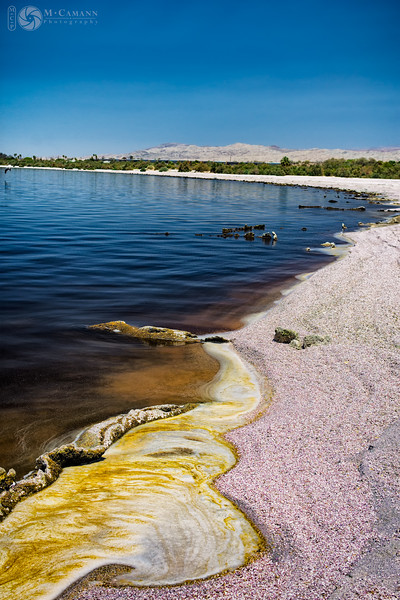 Salton Sea, California.