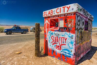 Salvation Mountain, Slab City, Niland, California.