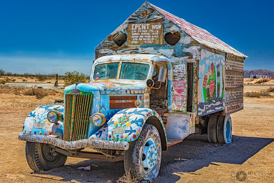 Salvation Mountain, Slab City, Niland, California.