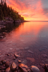 Sunrise Reflecting - Tofte, MN