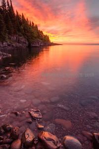 Sunrise Reflecting - Tofte, MN