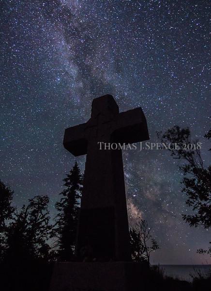 Milky Way and Cross