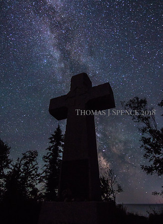 Milky Way and Cross