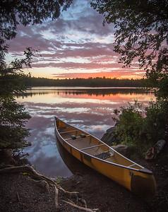 Sawbill Summer Sunset