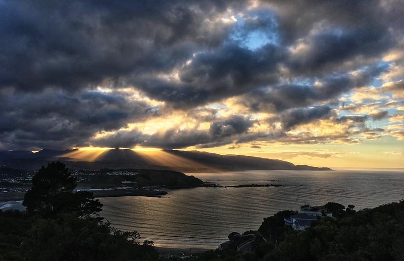Sunrise from Mt Albert