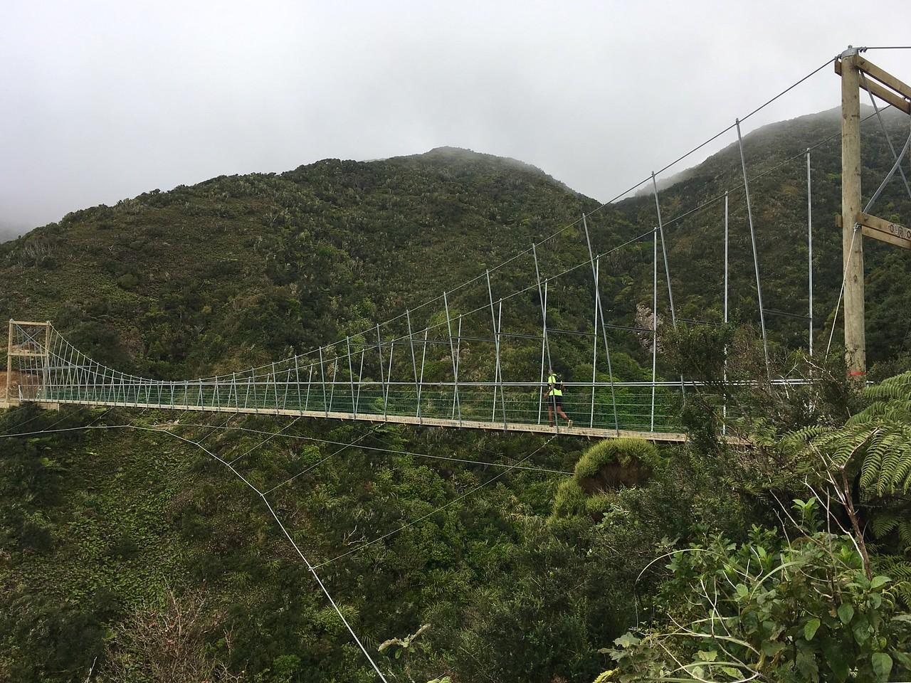 Upswing bridge