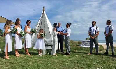 Viv and Steven's wedding
