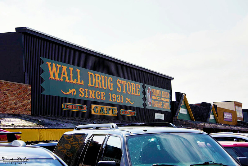 Wall Drug Store is located at the Badlands Exit so we stopped in to take a break and get something to eat before heading to the Badlands National Park