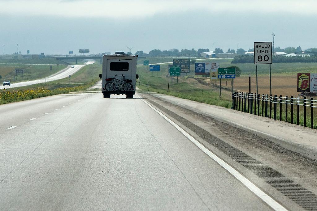 Badlands Exit off of I-90