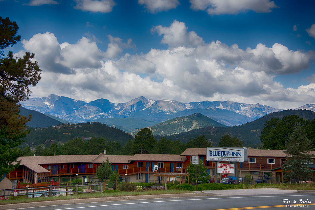 This was our hotel during our stay in Estes Park Colorado