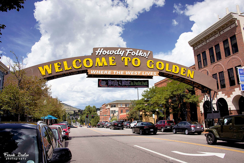 Golden Colorado is where we started our drive on the Lariat Loop National Scenic Byway
