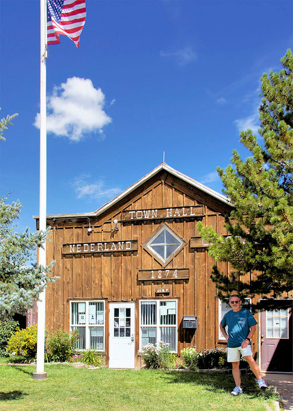 Town Hall,  Nederland CO.