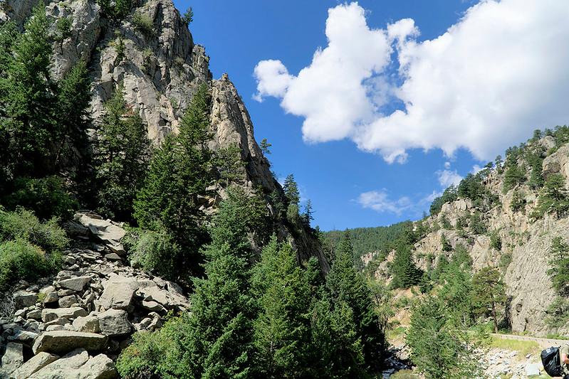 Boulder Falls area