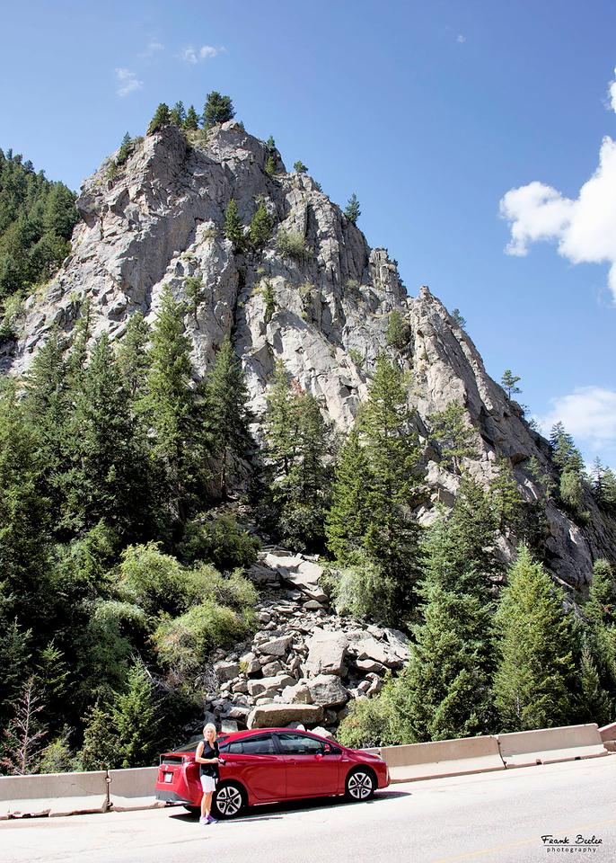 This stop was at Boulder Falls