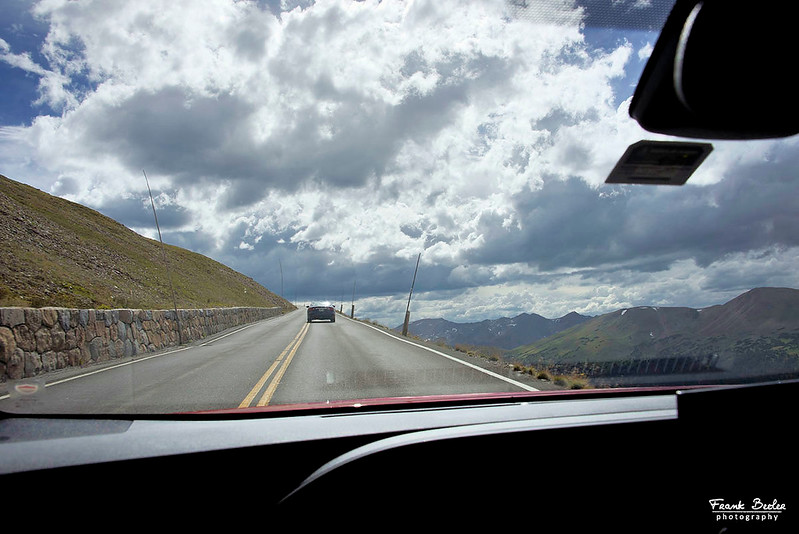 Trail Ridge Road has more than eight miles above 11,000 feet. No shoulders or guardrails in most places.