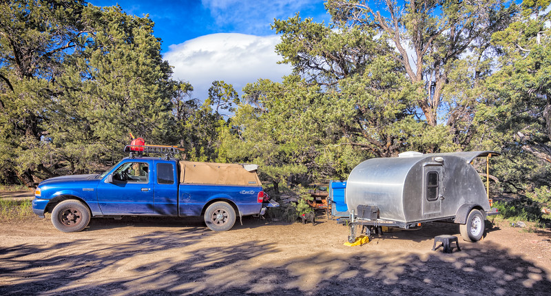 Grandview campground, Inyo National Forest, California. 8500 ft. June 13, 2017