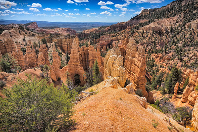Fairyland Canyon, Bryce Canyon National Park, Utah.  June 11, 2017.