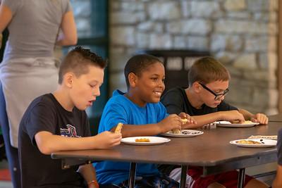 Yogi Ferrell BB Camp at Park Tudor_7/21/18