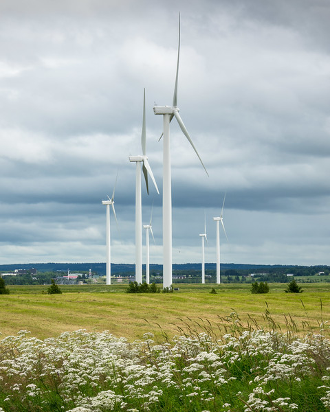 TURBINES AT TANTRAMAR MARSH