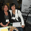 JIM VAIKNORAS/Staff photo Karen Davis and Melissa Foley of the Aid Association at the Anna Jaques Hospital Aid Association Great Chefs' Night Boots & Scrubs.