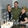 JIM VAIKNORAS/Staff photo Meghann Basque, Nicholas Peters Bonds, and Mackenzie Chapman of Kitchen to Aisle Catering & Eventat at the Anna Jaques Hospital Aid Association Great Chefs' Night Boots & Scrubs.
