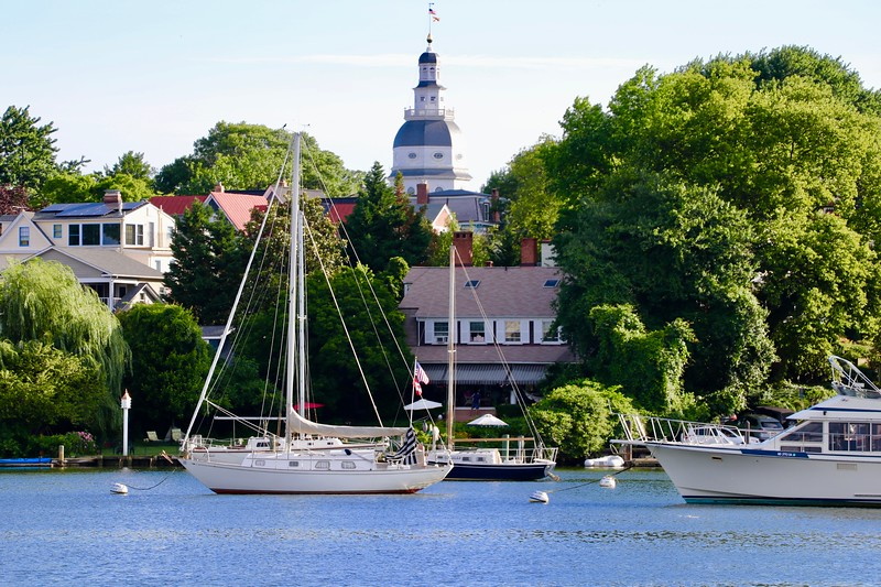Our Capital from Eastport, Across Spa Creek