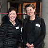 JIM VAIKNORAS/Staff photo Leeann Collins and Ginny Eramo of Interlocks during Newburyport Spring Invitation Night.
