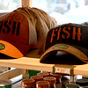 JIM VAIKNORAS/Staff photo Fish hats at Fish in Newburyport.